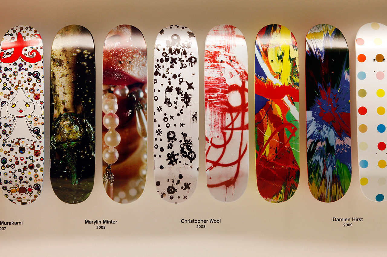 Supreme Skate Deck Retrospective Recap @ 032c Workshop Berlin