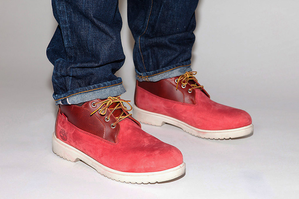 Timberland Boots For Men 2012 Supreme x Timbe...