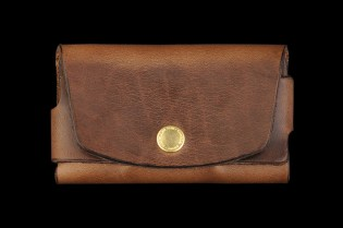 "Tanner Goods ""Saddle Tan"" Cardholder"