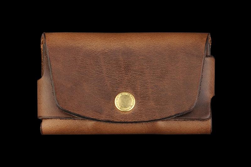 tanner goods saddle tan cardholder