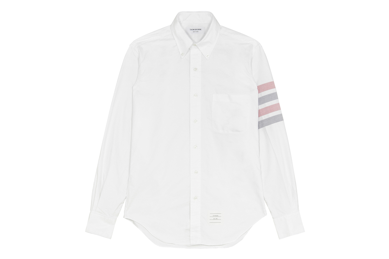 Thom Browne 2013 Spring/Summer Oxford Sleeve Stripe Shirt