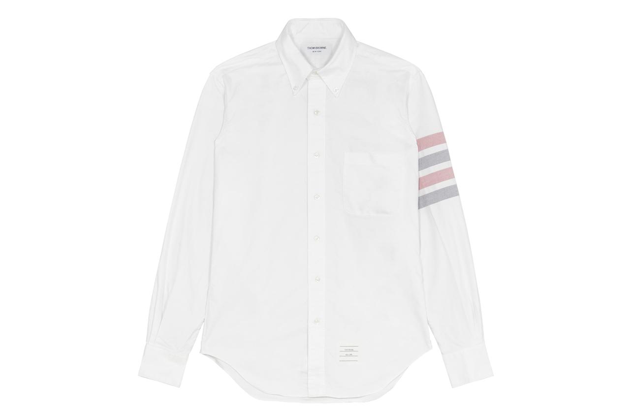 Thom Browne 2013 Spring/Summer Oxford Sleeve Stripe Shirt