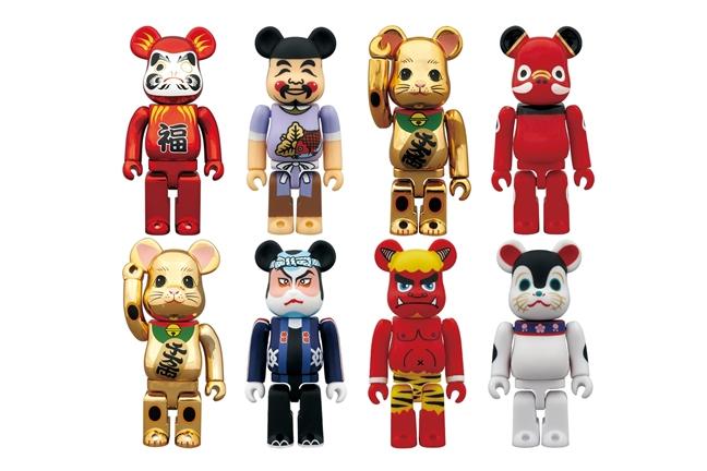 "TOKYO SKYTREE x Medicom Toy 400% Bearbrick ""Manekineko Daruma Gold"""