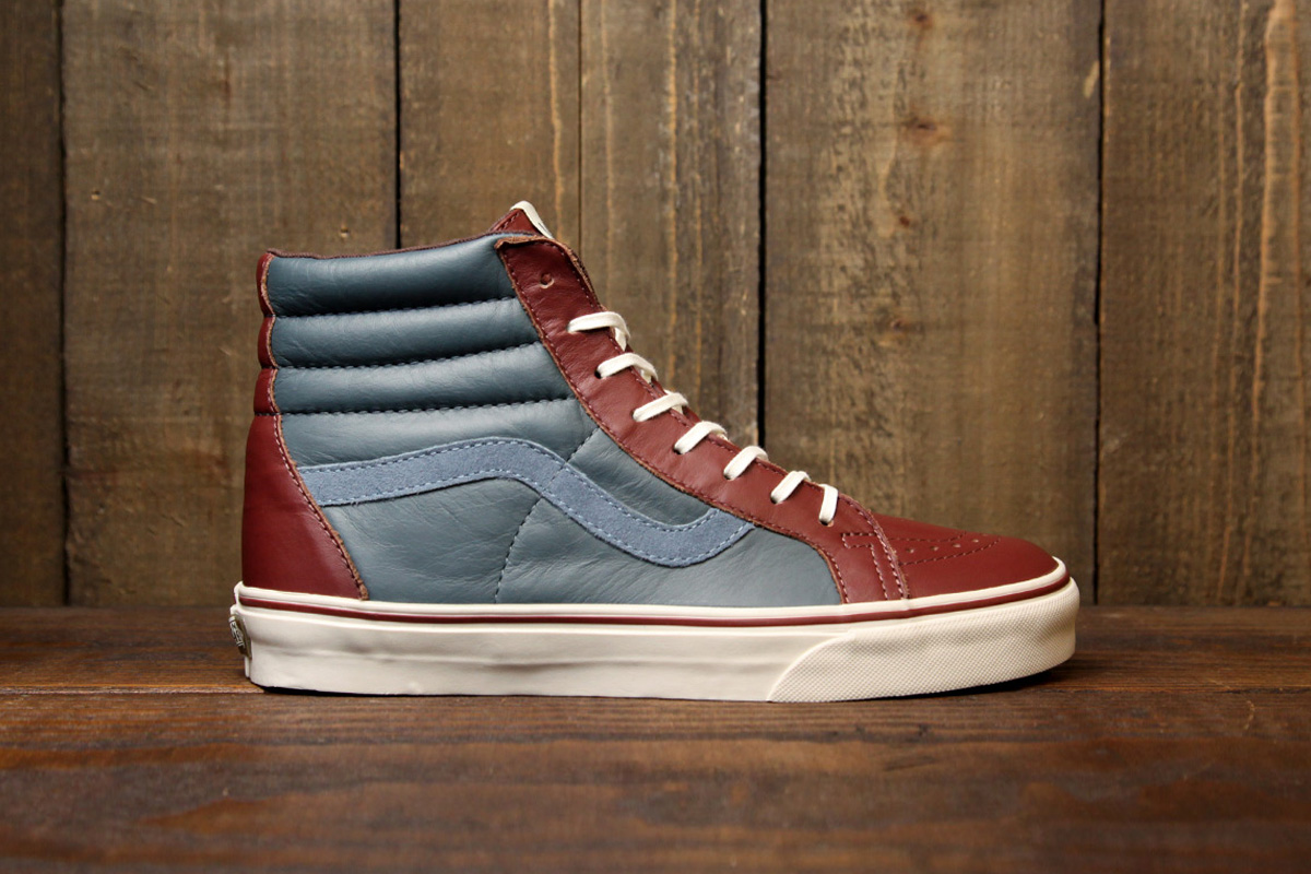 Vans 2012 Holiday Leather Era 59 & Sk8-Hi CA Collection
