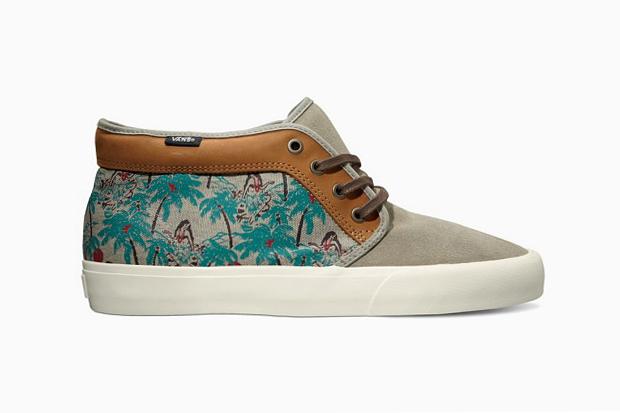 "Vans California 2013 Spring Chukka Boot CA ""Hula Camo"""