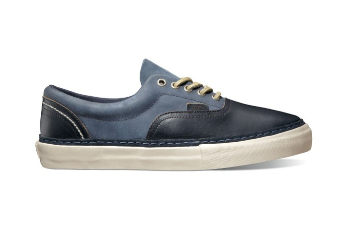 "Horween x Vans Vault ""Black & Navy"" Era Pack"