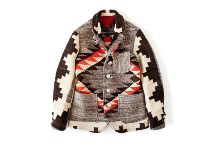 visvim 2012 Winter Navajo Blanket Hoppiland Jacket