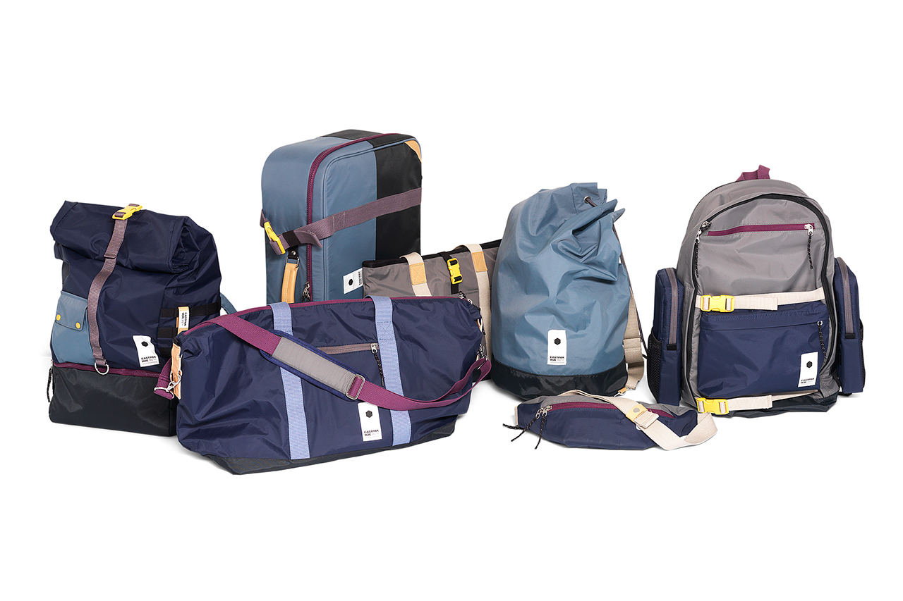 """Wood Wood x EASTPAK 2012 Holiday """"Modulation"""" Collection"""