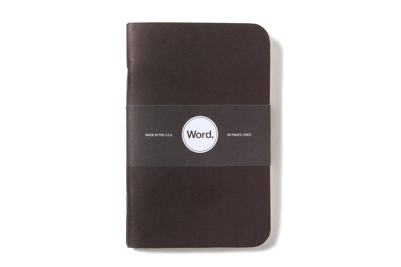 word pocket notebooks