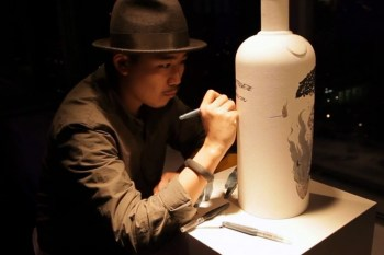"""Yue Wu """"The Circle of Life"""" Exhibition for Absolut Art-Stream"""