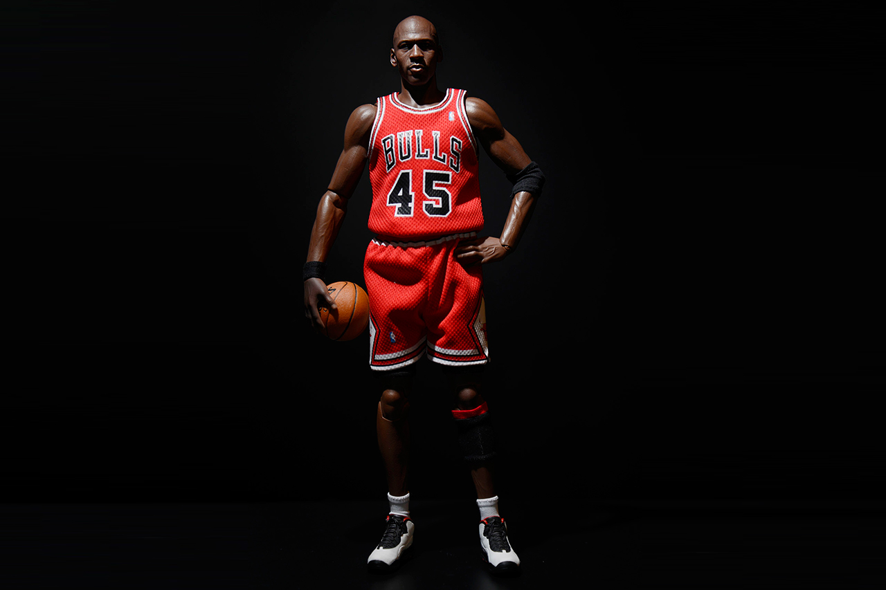 1 6 limited edition real masterpiece michael jordan series 1 im back by enterbay