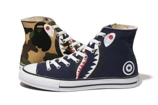 A Bathing Ape SHARK APE STA