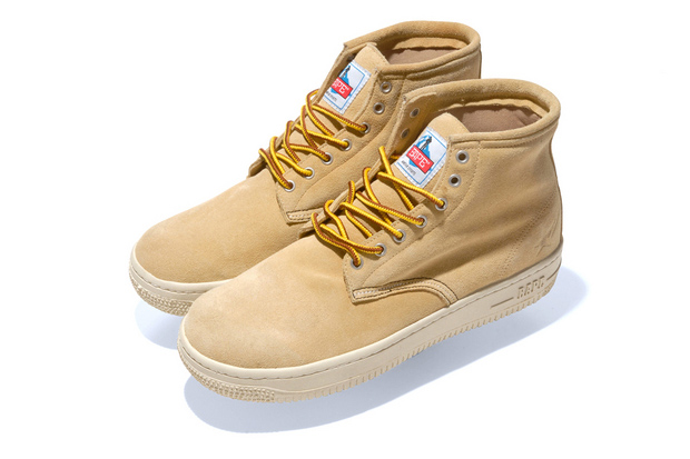 A Bathing Ape Suede WORKSTA