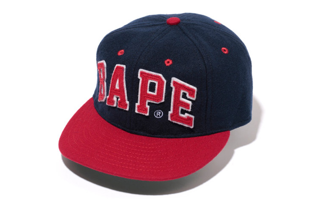 A Bathing Ape x Ebbets Field Flannels Wool Cap