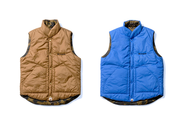 A Bathing Ape x Snugpak Airpak Vest & Snorkel Jacket