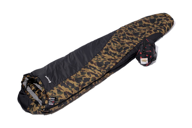 A Bathing Ape x Snugpak SOFTIE TECHNIK Sleeping Bag