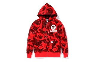 AAPE by A Bathing Ape 2013 Red Camo Collection