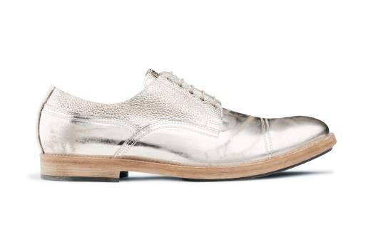 Acne Askin Metal Silver Derby