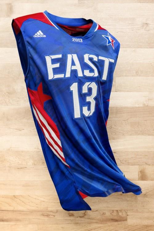 adidas Basketball Unveils 2013 NBA All-Star Uniforms