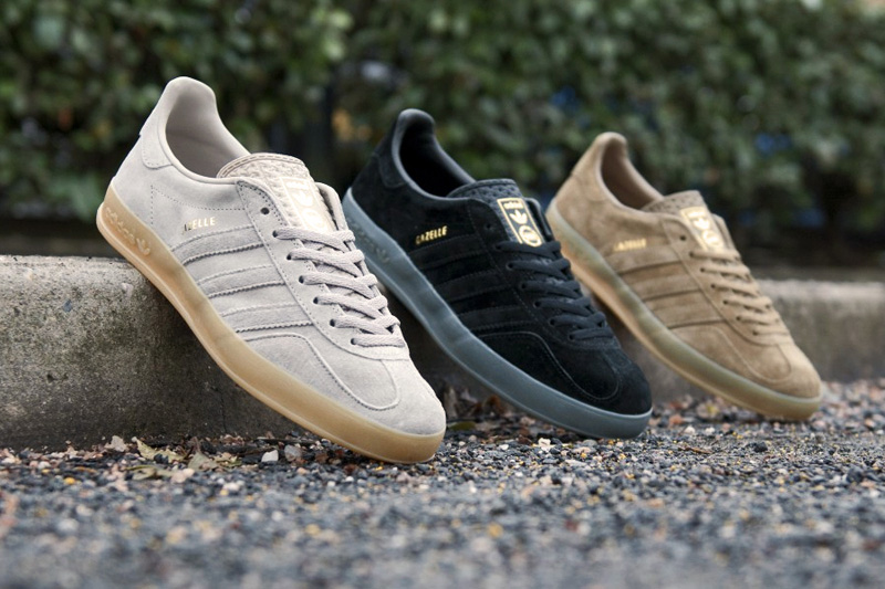 "adidas Originals 2013 Spring Gazelle Indoor ""Tonal Pack"""