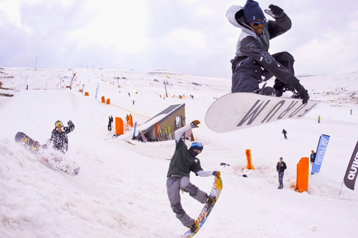Afrikabamboardin! A Snowboard Journey to Africa