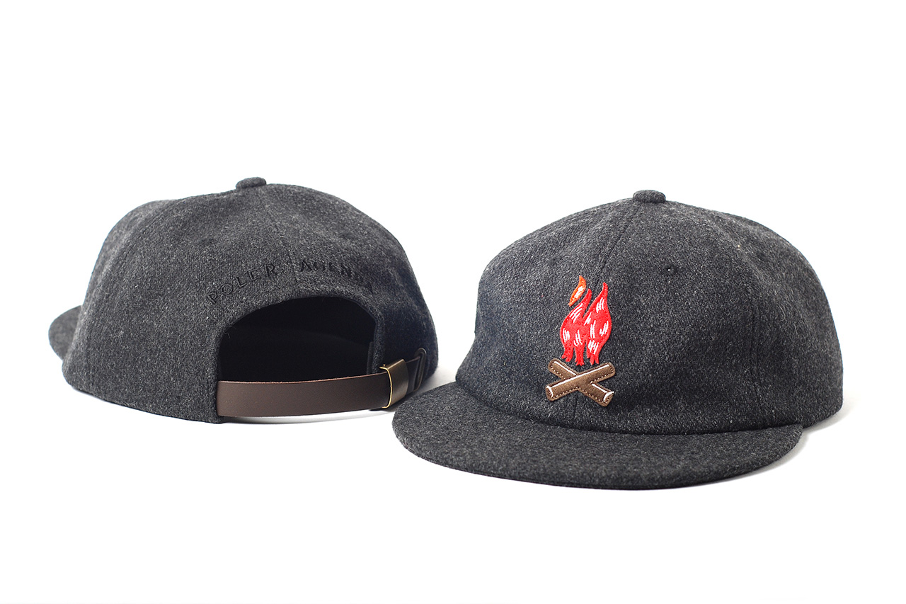 Agenda 10th Anniversary Caps with Black Scale, BornxRaised, Poler Camping Stuff and OGABEL