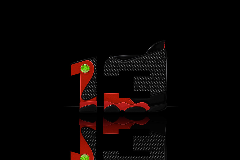 Air Jordan Illustrated Font by 13th Collective & Will C. Smith
