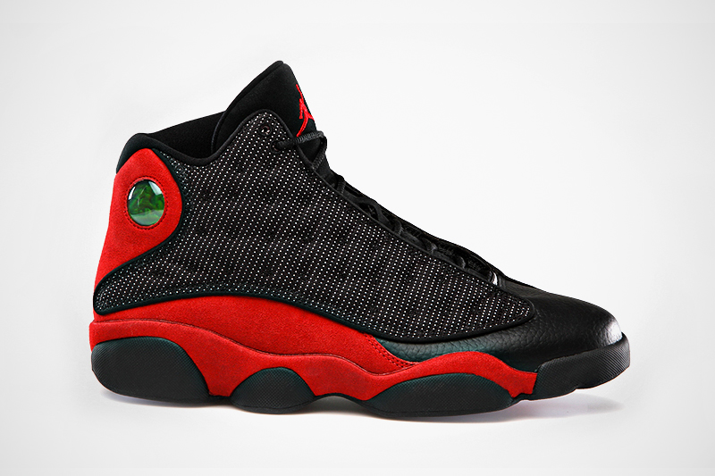 Air Jordan 13 Retro Black/Varsity Red-White