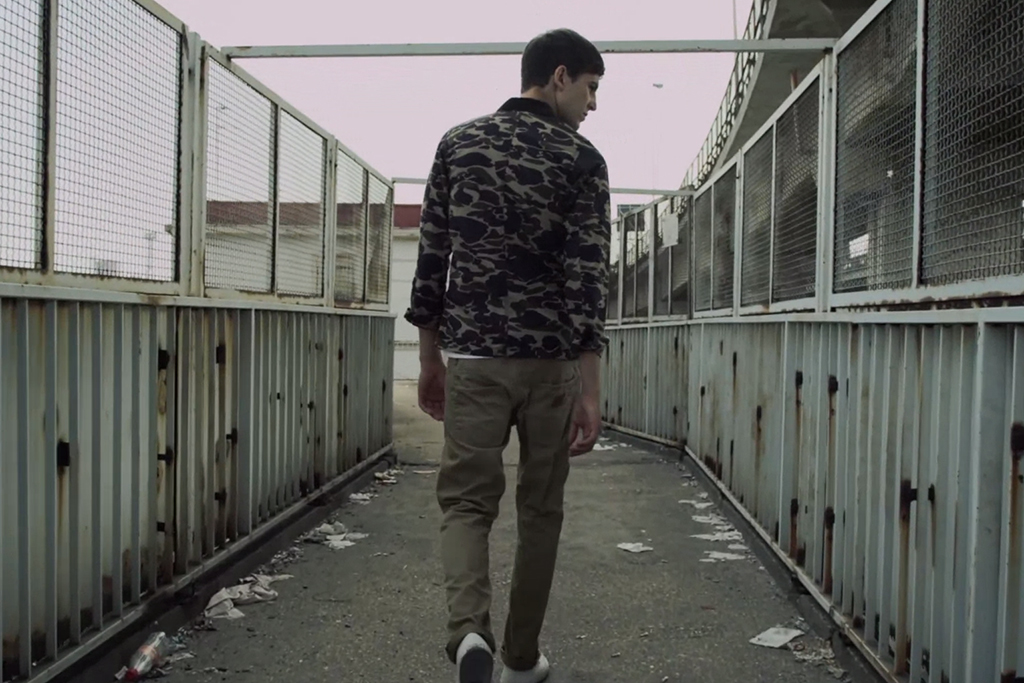 "Alexander Basile presents ""A Golden Light Underneath My Car"" for Carhartt WIP"