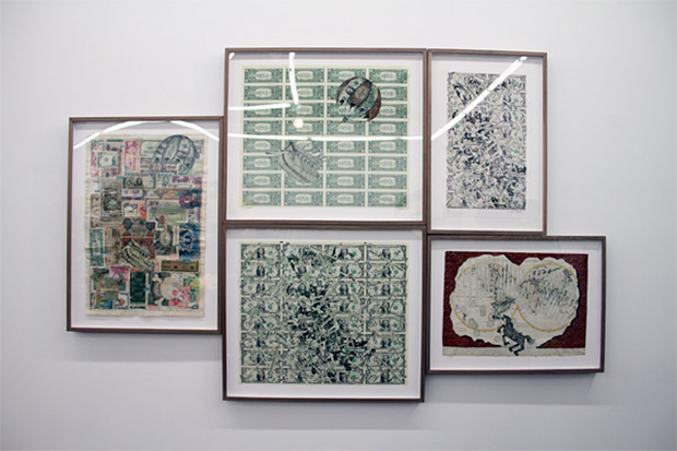 """Andrew Schoultz """"Fall Out"""" Exhibition @ Mark Moore Gallery"""