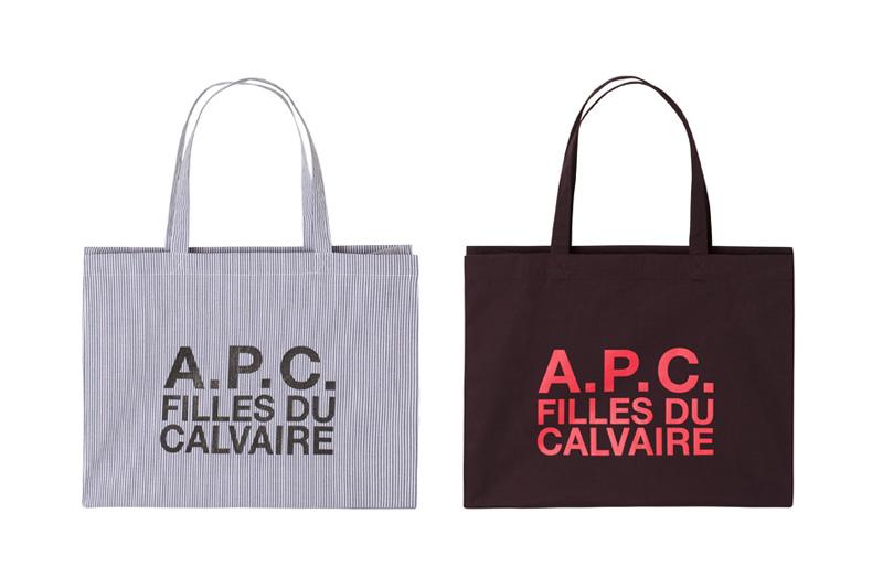 A.P.C. Filles du Calvaire Tote Bags