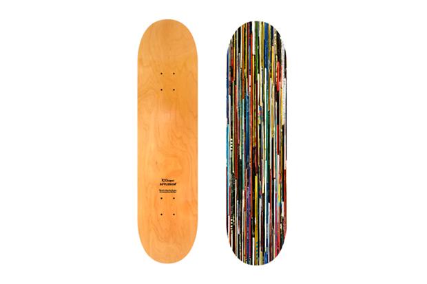 Applebum x N.T Original Record Skateboard