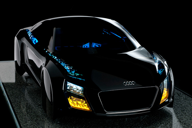 audis new automotive lighting technologies debut at ces 2013