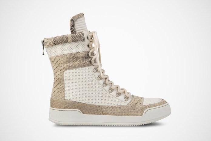 Balmain 2013 Spring/Summer Hi Cut Sneaker