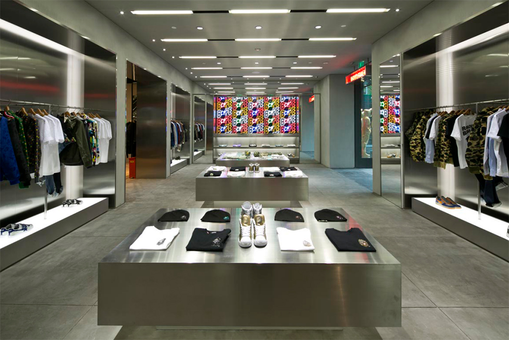 BAPE STORE Shanghai CITIC City Plaza Store Opening