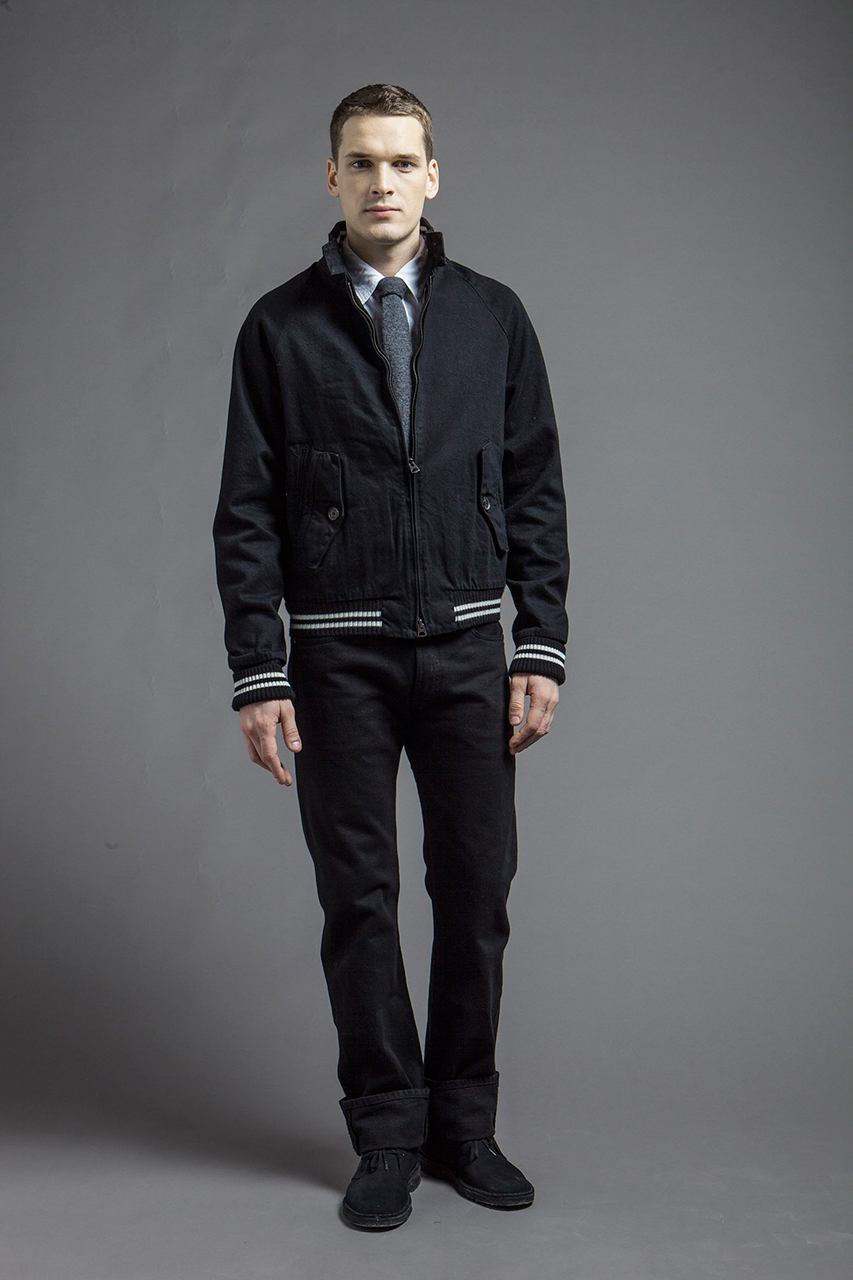 baracuta 2013 fall winter blue label collection
