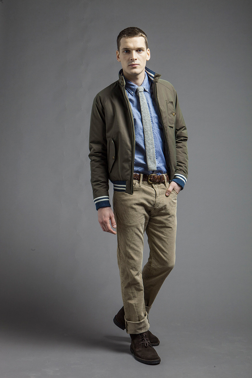 Baracuta 2013 Fall/Winter Blue Label Collection