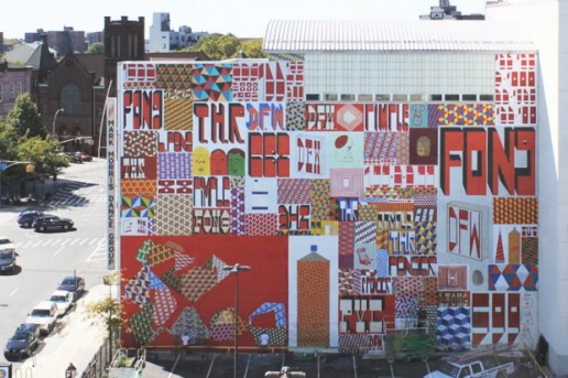 Barry McGee's Brooklyn Mural