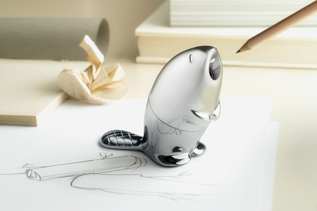 Beaver Pencil Sharpener by Rodrigo Torres for Alessi