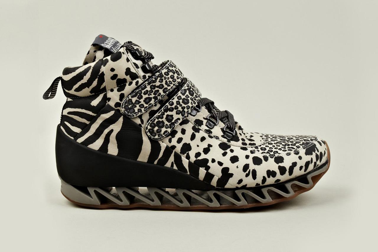Bernard willhelm x camper toder safari print sneaker hypebeast - Bernard wilhelm ...
