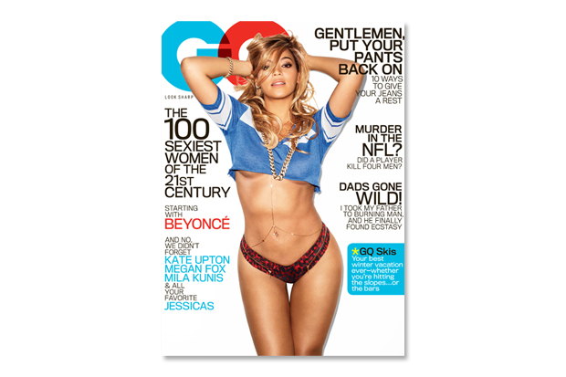 """Beyoncé Covers GQ's 2013 February """"The 100 Sexiest Women of the 21st Century"""" Issue"""