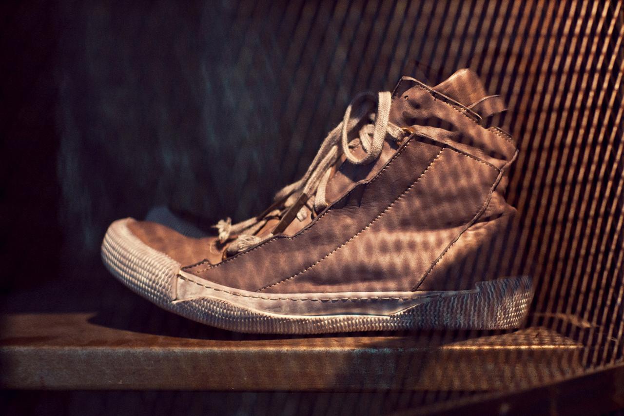 Boris Bidjan Saberi 2012 Fall/Winter BAMBA2-F235 Mid-Top Sneaker