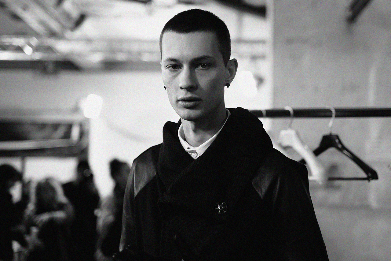 Boris Bidjan Saberi 2013 Fall/Winter Backstage Visuals