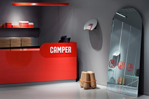 Camper Shoe Testing Facility by Note Design Studio