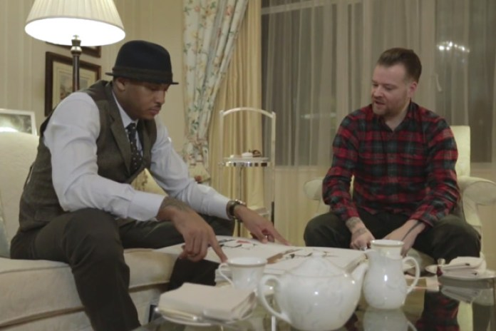"Carmelo Anthony and Dave White ""Tea for Two"""