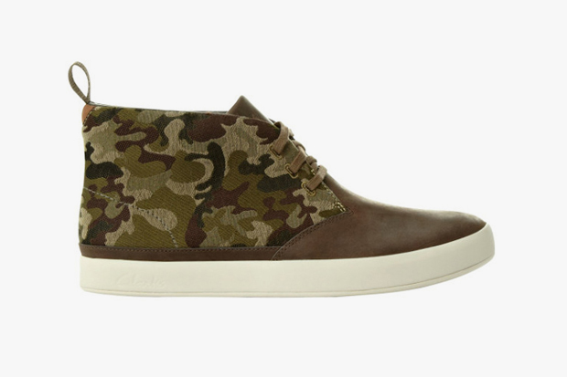clarks hybrids 2013 spring summer camouflage collection