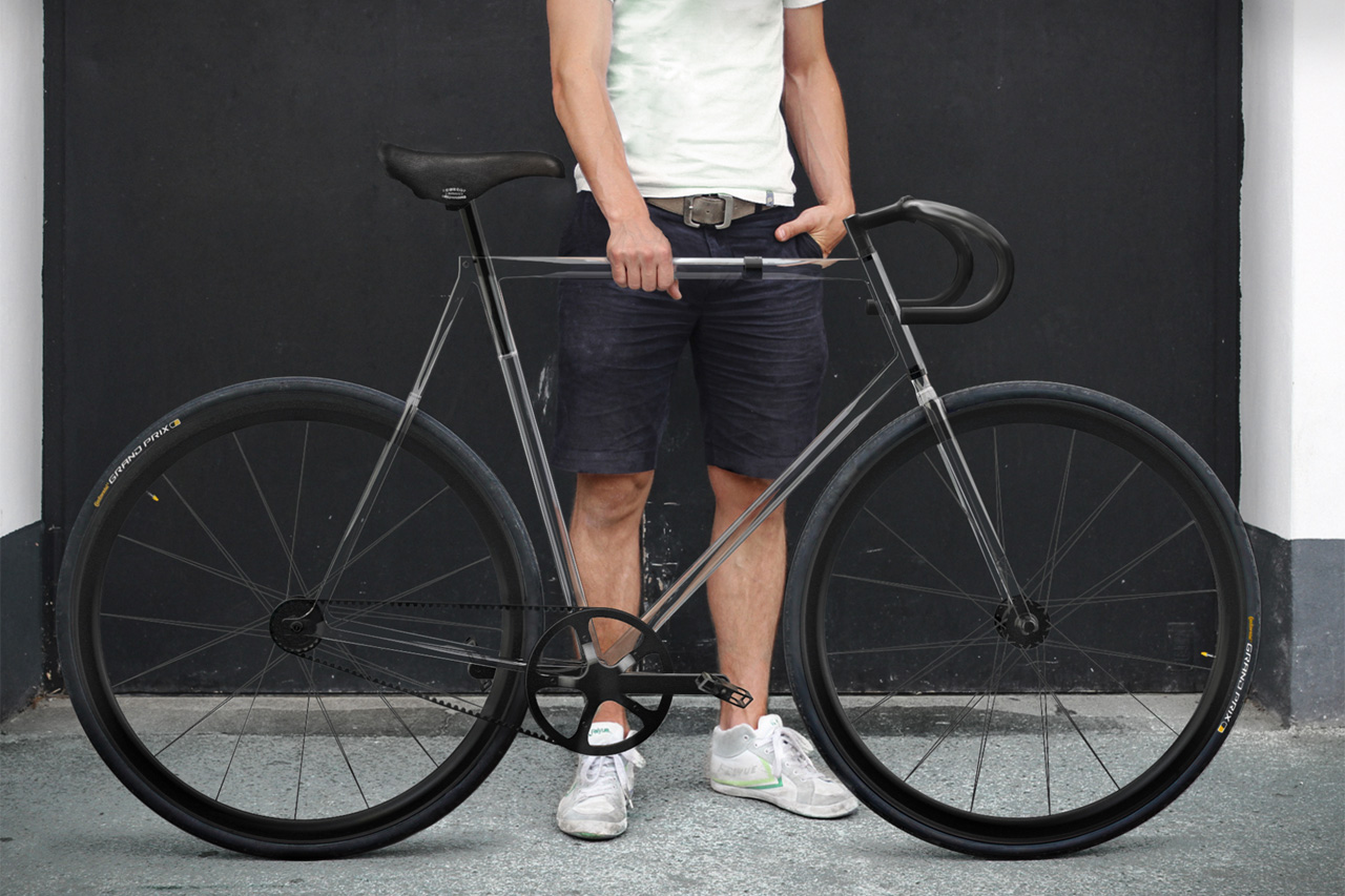 designaffairs STUDIO's Fully Transparent Clarity Bike