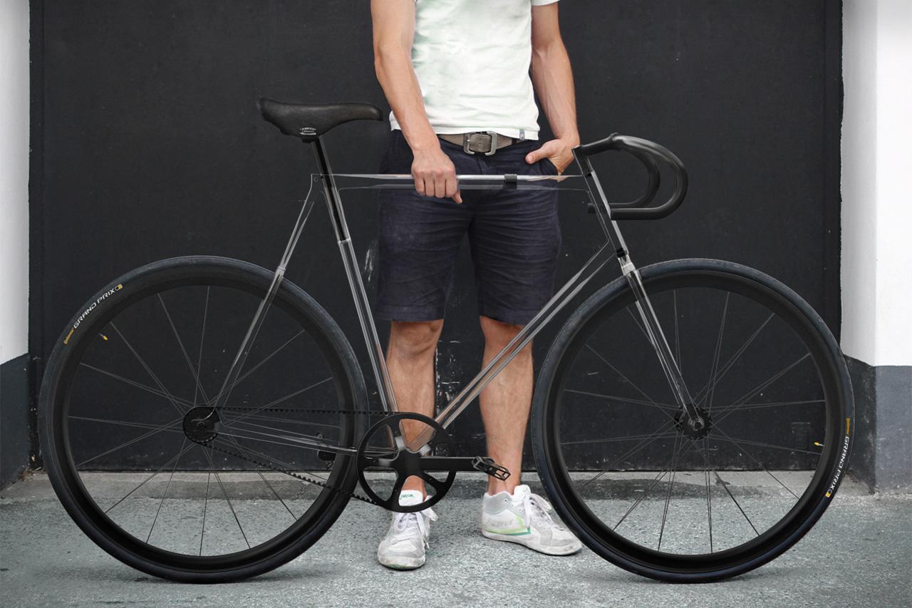 designaffairs STUDIO's Fully Transparent Clarity Bike