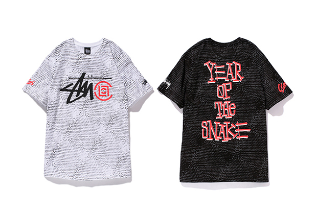 clot x stussy japan 2013 year of the snake collection