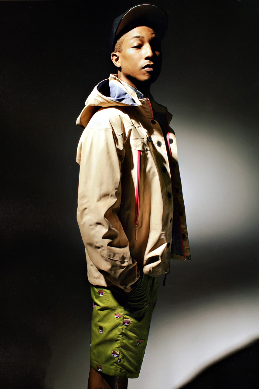 http://hypebeast.com/2013/1/pharrell-williams-models-billionaire-boys-club-and-a-bathing-ape